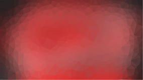 Fondo polivinílico bajo triangular desgreñado geométrico abstracto rojo del gráfico del ejemplo del estilo stock de ilustración