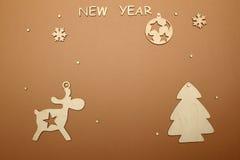 Fondo por Año Nuevo Fotografía de archivo libre de regalías