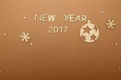 Fondo por Año Nuevo Foto de archivo libre de regalías