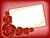 Fondo por el día de tarjeta del día de San Valentín Imágenes de archivo libres de regalías