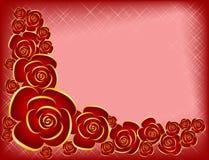 Fondo por el día de tarjeta del día de San Valentín Fotos de archivo