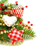 Fondo por la Navidad o el Año Nuevo Fotos de archivo
