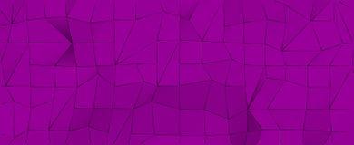 Fondo porpora astratto con le forme geometriche Immagine Stock Libera da Diritti