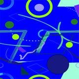 Fondo porpora blu astratto, modello senza cuciture 18-16 Royalty Illustrazione gratis