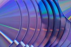 Fondo porpora di struttura dei dischi Immagine Stock Libera da Diritti