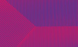 Fondo porpora e blu geometrico nei colori d'avanguardia illustrazione di stock