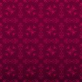 Fondo floreale rosso elegante Fotografia Stock Libera da Diritti