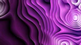 Fondo porpora fresco dell'ondulazione di curvatura illustrazione di stock