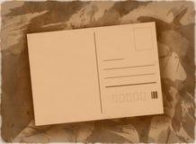 Fondo postal del grunge Imagen de archivo