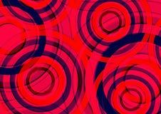 Fondo precioso colorido Diseño redondo de la forma circular Fotografía de archivo libre de regalías