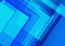 Fondo precioso colorido Forma azul del color Foto de archivo