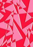 Fondo precioso colorido forma del color rojo Fotografía de archivo