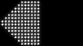 Fondo principale 4K del primo piano della luce della parete archivi video