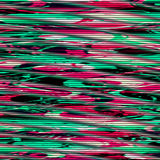 Fondo psichedelico di impulso errato Errore dello schermo della TV Progettazione dell'estratto di rumore del pixel di Digital Imp Immagine Stock Libera da Diritti