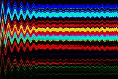 Fondo psichedelico di impulso errato Vecchio errore dello schermo della TV Progettazione dell'estratto di rumore del pixel di Dig Fotografia Stock