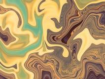 Fondo psichedelico variopinto dell'acquerello Struttura di marmorizzazione Progettazione di marmorizzazione di struttura Priorità Immagine Stock Libera da Diritti