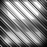 Fondo pulido del metal 3D rendido Imagen de archivo libre de regalías