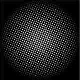 Fondo punteado del vector del disco Imagen de archivo