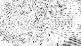 Fondo punteggiato semitono Modello di semitono di vettore di effetto Circ illustrazione di stock