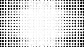 Fondo punteggiato semitono Modello di semitono di vettore di effetto Circ royalty illustrazione gratis