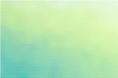 Fondo punteggiato verde chiaro del turchese delicato illustrazione vettoriale