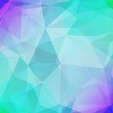 Fondo quadrato astratto del triangolo Fotografia Stock