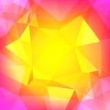Fondo quadrato astratto del triangolo Immagine Stock Libera da Diritti