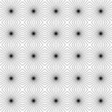 Fondo quadrato con le linee Illustrazione di vettore Fotografia Stock