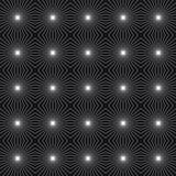 Fondo quadrato con le linee Illustrazione di vettore Immagine Stock