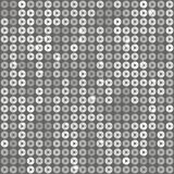 Fondo quadrato con scintillio grigio, zecchini illustrazione di stock