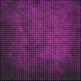 Fondo quadrato del mosaico del pixel di vettore Fotografia Stock Libera da Diritti