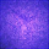 Fondo quadrato del mosaico del pixel di vettore Fotografia Stock