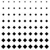 Fondo quadrato di progettazione del modello in bianco e nero Fotografia Stock Libera da Diritti