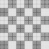 Fondo quadrato grigio del modello del cubo illustrazione di stock
