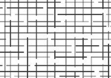 Fondo a quadretti con le linee nere Vettore royalty illustrazione gratis