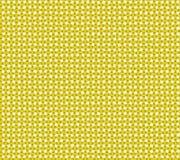Fondo a quadretti del paese giallo d'annata. Fotografia Stock Libera da Diritti
