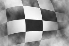 Fondo a quadretti della bandiera della corsa Immagine Stock Libera da Diritti