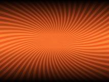 Fondo que brilla intensamente del color anaranjado abstracto stock de ilustración