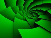 Fondo que tuerce en espiral abstracto ilustración del vector