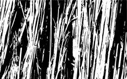 Fondo rústico de la hierba de la textura blanco y negro de la silueta libre illustration