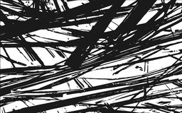 Fondo rústico de la hierba de la textura blanco y negro de la silueta ilustración del vector