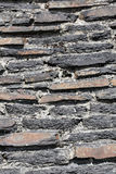 Fondo rústico de la pared de piedra Imágenes de archivo libres de regalías