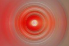 Fondo radial rojo del extracto del punto foto de archivo libre de regalías