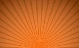 Fondo radiale di colore arancio astratto per il concetto di tema di Halloween illustrazione di stock