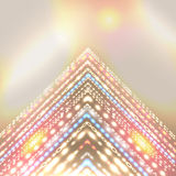 Fondo radiante del día de fiesta para el diseño abstracto. Fotografía de archivo