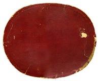 Fondo rasgado del rectángulo de tarjeta Foto de archivo libre de regalías