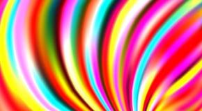 Fondo rayado colorido brillante con las rayas multicoloras Modelo del vector stock de ilustración