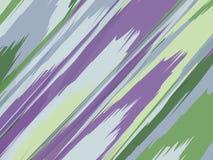 Fondo rayado de la acuarela Las rayas modelan con los movimientos pintados a mano del cepillo Línea colorida abstracta fondo Chap libre illustration