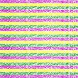 Fondo rayado del creyón en colores pastel de Mardi Gras Fotos de archivo libres de regalías
