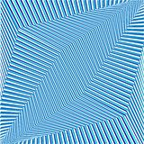 Fondo rayado futurista del extracto geométrico azul Vector stock de ilustración